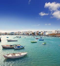 Spanien Lanzarote Karta.Farjor Fran Spanien Till Lanzarote